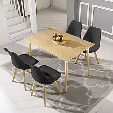 Oobest - 4 Chaises Design Confortable Moderne,