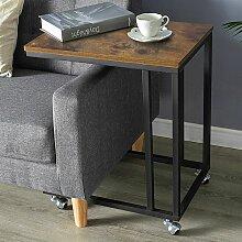 Oobest - Table de Chevet Bout de Canapé à