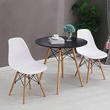 Oobest - Table Salle à Manger Ronde Design