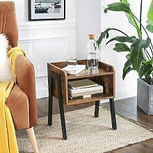 Oobest - WIHHOBY Lot de 2 Table de chevet