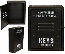 ootb 144222 Boîte à clés en métal, Noir,