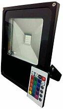 Optonica - Projecteur LED RGB 50W avec