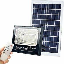 Optonica - Projecteur LED Solaire 35W 2600Lm 6000K