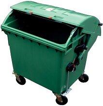 OPV - Container poubelle plastique 1,1 m3 avec