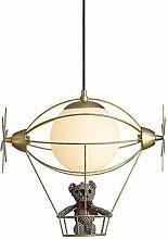 Or Moderne Chambre D'enfant Suspension Lampe
