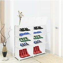 Organisateur d'étagère à chaussures