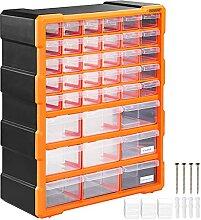 Organiseur 39 tiroirs Boîte de rangement
