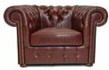 Original fauteuil cuir brighton basic cr