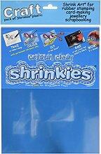 Original Shrinkles, Feuilles Shrink Art, cristal