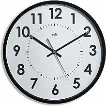 Orium 11244 Horloge silencieuse Abylis, Noir, 30cm