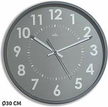 Orium 11245 Horloge silencieuse Abylis, Verre,