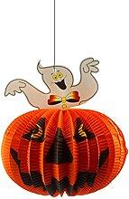 ORNAAA Halloween Citrouille Pendentif Lumière LED