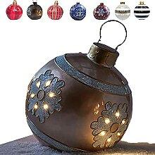 Ornements de Noël Boule gonflable de Noël