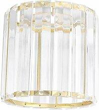OSALADI Or Cristal Abat-Jour Lustre Luxueux