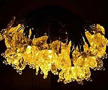 OSALADI Papillon Solaire Guirlande Lumineuse