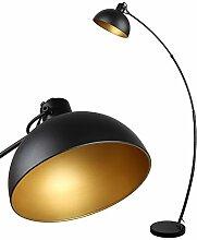 Osasy Lampadaire Arc, lampe à pied design rétro,