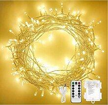 Othran Guirlande lumineuse 10 m 100 LED avec