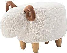 Ottoman massif d'agneau d'agneau