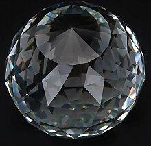 Oumefar Boule de verre prismes en verre Boule de