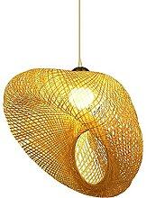 OUMIFA Lampe à Suspension Lanterne en Bambou