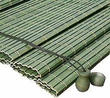 OUPAI Stores enrouleurs Rideau De Bambou Romain