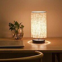 OurLeeme Lampe de table de chevet, lampe de nuit