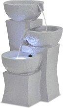 OUSEE Fontaine d'intérieur avec Lampe LED