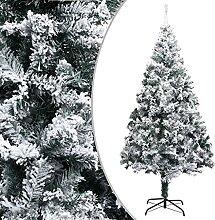 OUSEE Sapin de Noël Artificiel avec Neige