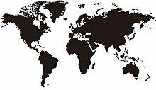 Outflower Autocollants Stickers Carte du Monde