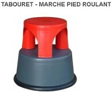Outifrance – tabouret-marche pied roulant