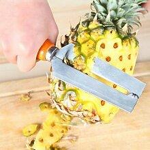 Outil de coupe de fruits avec manche en bois,