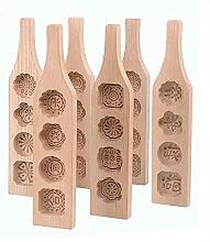 Outil de cuisson à pâtisserie en bois de moule