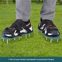 Outil de jardinage de chaussures à pointes