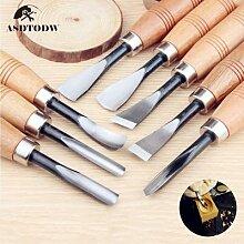 Outils de sculpture sur bois à main sèche de