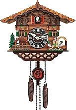 OUUUKL Horloge Murale de Jardin Extérieur,