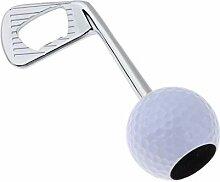 Ouvre-bouteille de balle de golf drôle