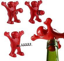 Ouvre-bouteille de vin 3 pièces, nouveauté