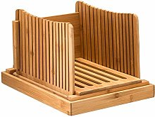 OVBBESS Guide de coupe en bambou – Coupe-pain en