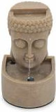 Oviala Fontaine bouddha pierre reconstituée LED