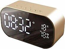 OVsler Horloge Digitale Reveil Matin Radio Reveil