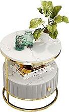 Ownlife Table de chevet moderne en bois avec 1
