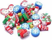 Oyfel Gomme Père Noël pour Ecole Ecolier Enfant
