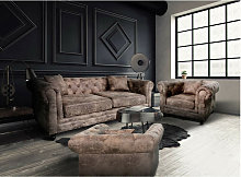 Pack Canapé Chesterfield 3 Pla X X