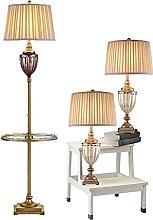 Pack De 3 Lampes Avec Plateau En Verre, Ferme