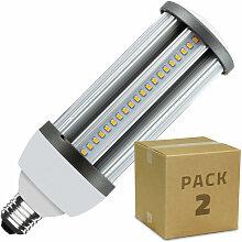 PACK Lampe LED Éclairage Public Corn E27 30W (2
