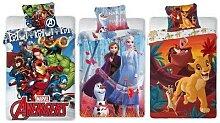 Pack linge de lit de 2 pièces : Avengers