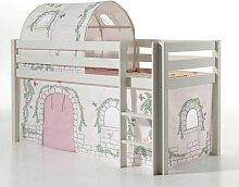 Pack - Lit Enfant, Tente & Tunnel pino Birdy Blanc