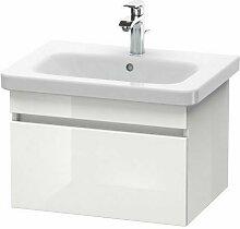 Pack meuble + lavabo DuraStyle 65cm - Blanc