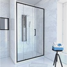 Pack paroi porte de douche + receveur a poser -