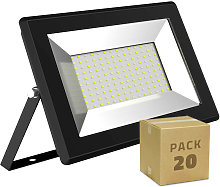 Pack Projecteur LED Solid 100W (20un) Blanc Chaud